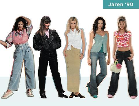 Jaren '90 Dress like celebrities | OTTO 40 jaar mode